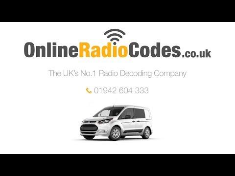 🚗Ford Transit 4500 RDS Radio Code Stereo PIN Unlock Codes