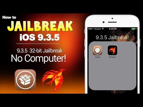 How To Jailbreak iOS 9.3.5 On 32-Bit Devices (NO COMPUTER)