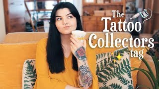 Tattoo Collectors Tag ❤️ + before & after my hand tattoo touch up