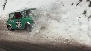 Rallye Monte-Carlo Historique 2018 Crashs Show