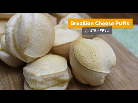 Brazilian Cheese Puffs (gluten free) • Brazilian Cheese Bread