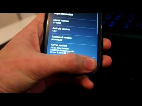 How To Install Android 4.4 on Galaxy S2 and S3