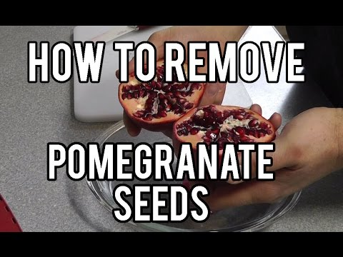 How To Remove Pomegranate Seeds Quick & Easy