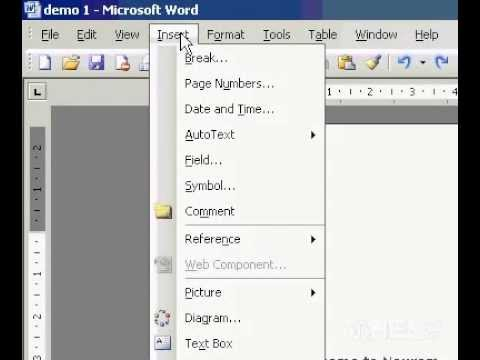 Microsoft Office Word 2003 Insert footnotes or endnotes in Single number format for the