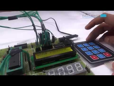 Password Based Door Lock using 8051 Microcontroller