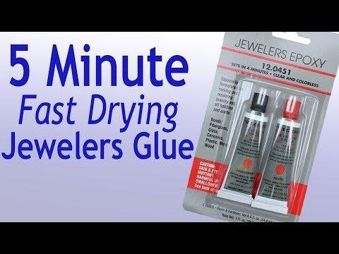 Jewelers Epoxy Glue