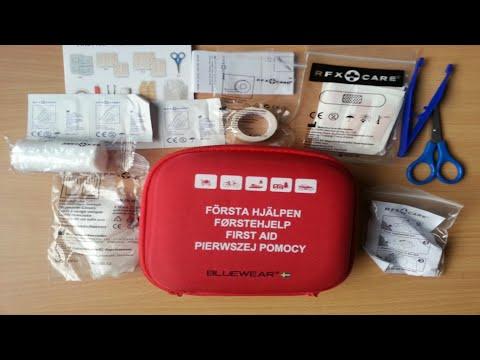 Bluewear 31 pcs. First Aid Kit