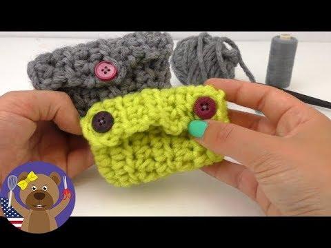 crochet purse tutorial for beginners - How To Crochet A Little Purse?