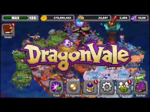 DragonVale Rift Variant Dragons