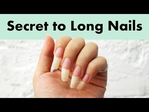 How to Grow Naturally Long Nails Fast   Healthy & Strong Nail Tips & Tricks