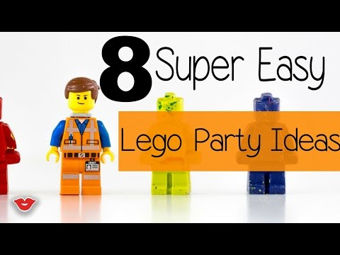 8 Super Easy DIY Lego Party Ideas | Alison from Millennial Moms