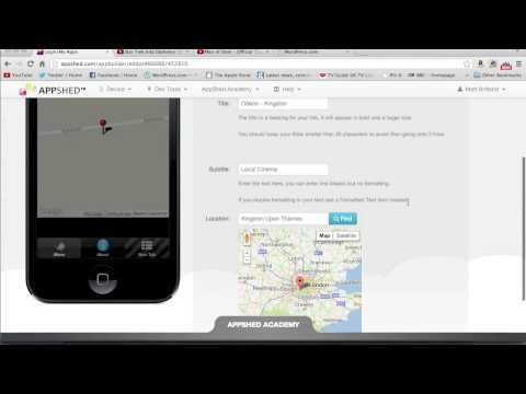 Appshed Basics Pt 3: Creating a Map and Map Points