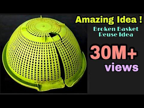 DIY Best Craft Idea/Best reuse of Waste Basket Craft Idea