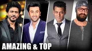 AMAZING & Top Moments Of Talking Films 2017 | SRK | Ranbir | Salman | Aamir