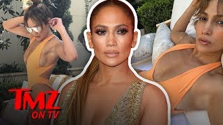 JLo Shares Some Sexy Pics With The World | TMZ TV
