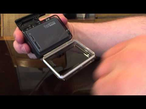 How to change the GoPro Hero back Door. New GoPro Hero