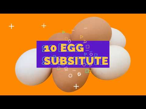 10 Different Egg Replacer in Baking