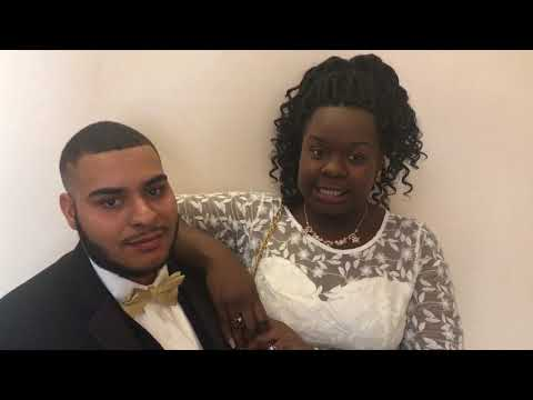 Jasmine Ferrer and Raziel Ferrer talk about getting married on Valentine's Day