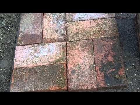 Recycled Paver Brick Patio