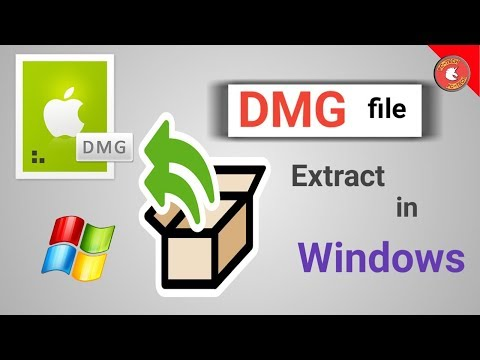 Extract DMG File | Windows | DMG for MAC | EXE for Windows