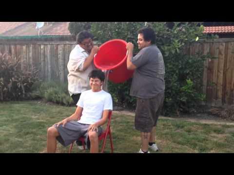 Calvin's ALS Ice Bucket Challenge