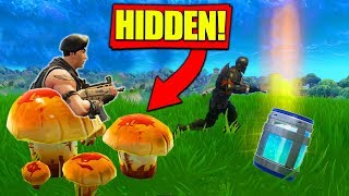 INVISIBLE MUSHROOM *TROLL* Strategy In Fortnite Battle Royale!