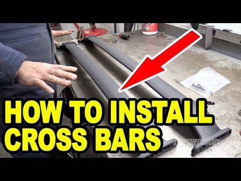 How To Install Cross Bars on Your Vehicle