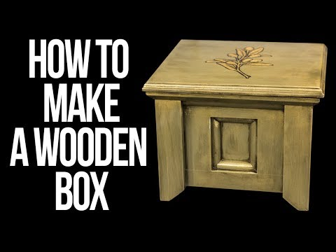 How to make a wooden box // DIY Woodworking