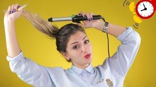 #x202b;طريقة سهلة للف الشعر المصبوغ والتالف بالفير#x202c;lrm;