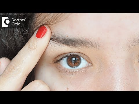 What can be the cause of Pimples on eyebrow? - Dr. Swetha Sunny Paul