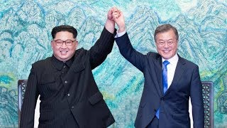 North and South Korea agree to work toward peace and denuclearization at summit