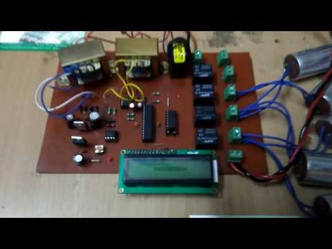 Automatic Power Factor Correction(APFC) using microcontroller