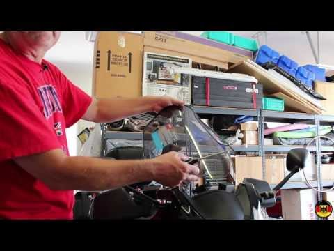 Suzuki GSX1250FA GIVI Windscreen