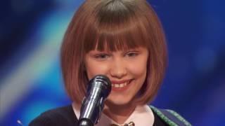 12 Year Old Ukulele Player on America's Got Talent 2016