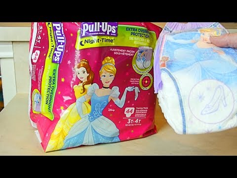 Huggies Night-Time Pull-Up Training Pants & Diapers Review