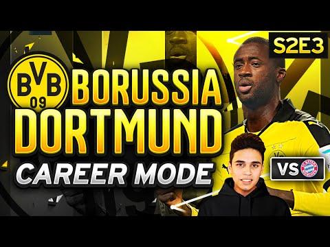 FIFA 16 Dortmund Career Mode - GAME OF THE SERIES VS BAYERN!  - S2E3