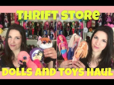 Rescued / Thrift Store DOLLS and TOYS HAUL - Disney, Barbie, EAH, MH, etc...