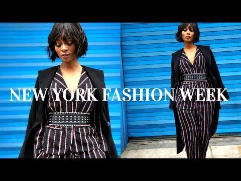New York Fashion Week Vlog   pt 1   Hey Zuri Hall