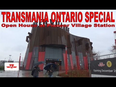 TO SPECIAL - Open House at Pioneer Village Station
