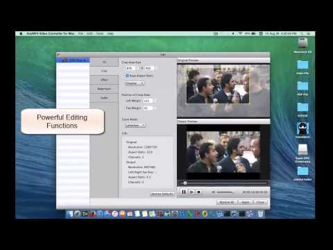The Best FLV to MP4 Converter to convert FLV Files to MP4 on Mac