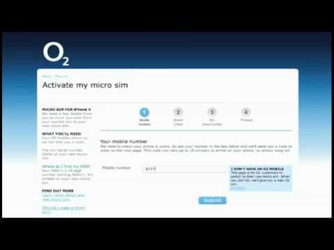 O2   iPhone 4 Micro Sim  Introducing the new Micro Sim