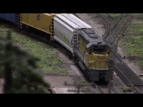 The Wallingford, CT Train Show on 4-3-16
