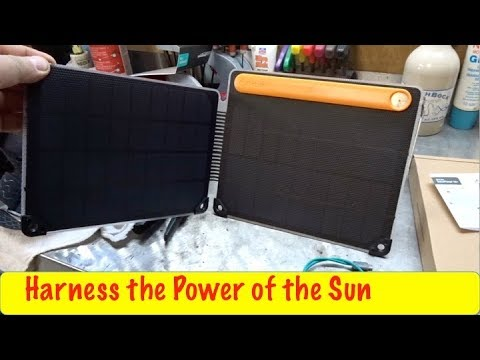 Biolight Solar Panel First Look and Use