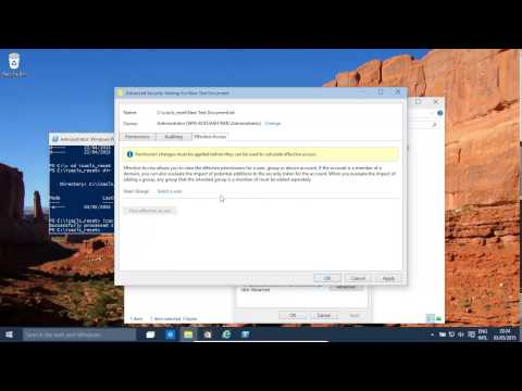Windows 10 ICACLS Reset and TAKEOWN (Also Windows 8.1) - Reset permissions