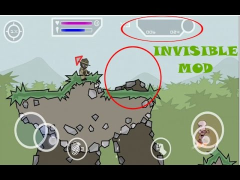 How to become invisible in Mini Militia? (for root + non-root device)