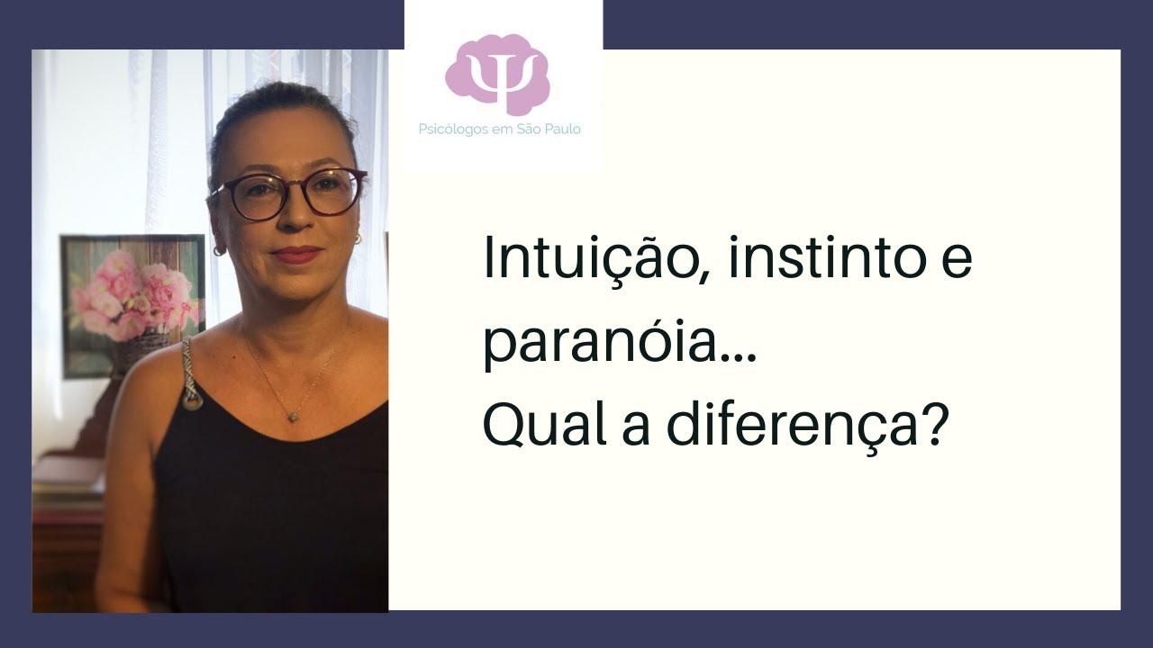 Intuição ou paranoia?