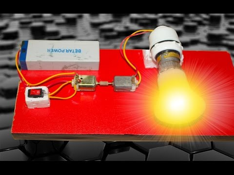 How to make a energy Generator at home