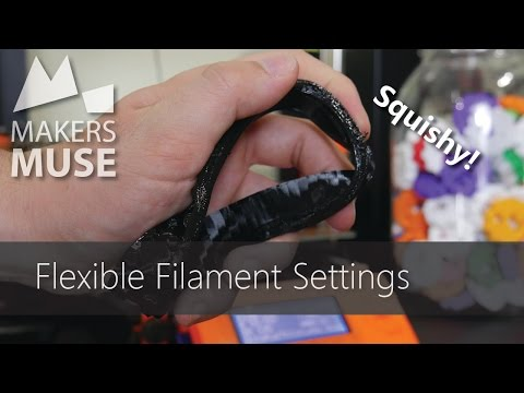 3D Printing with Flexible Filaments (on stock hardware!) -  3DP101