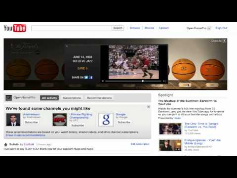 NBA The Finals Ad on YouTube 2011