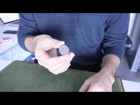 Make a Coin Vanish // French Drop Magic Trick Tutorial